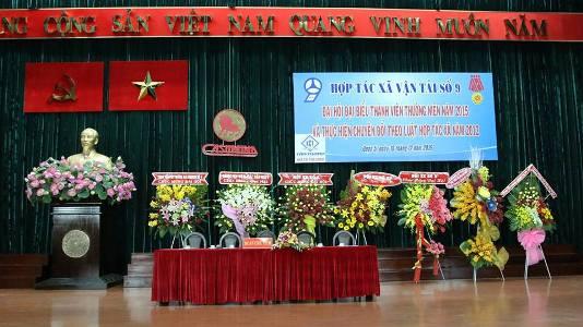 Đại Hội Đại Biểu Thành Viên Thường Niên Năm 2015 Và Thực Hiện Chuyển Đổi Theo Luật HTX Năm 2012