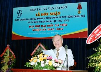 Lễ đón nhận Huân Chương Lao Động Hạng III - Đại hội đại biểu xã viên nhiệm kỳ 2012-2017